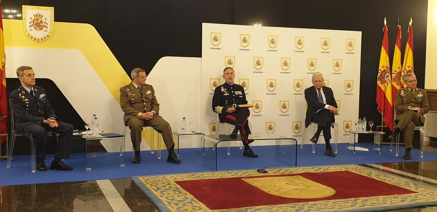 General López del Pozo highlights the success of operation 'Balmis' at CESEDEN
