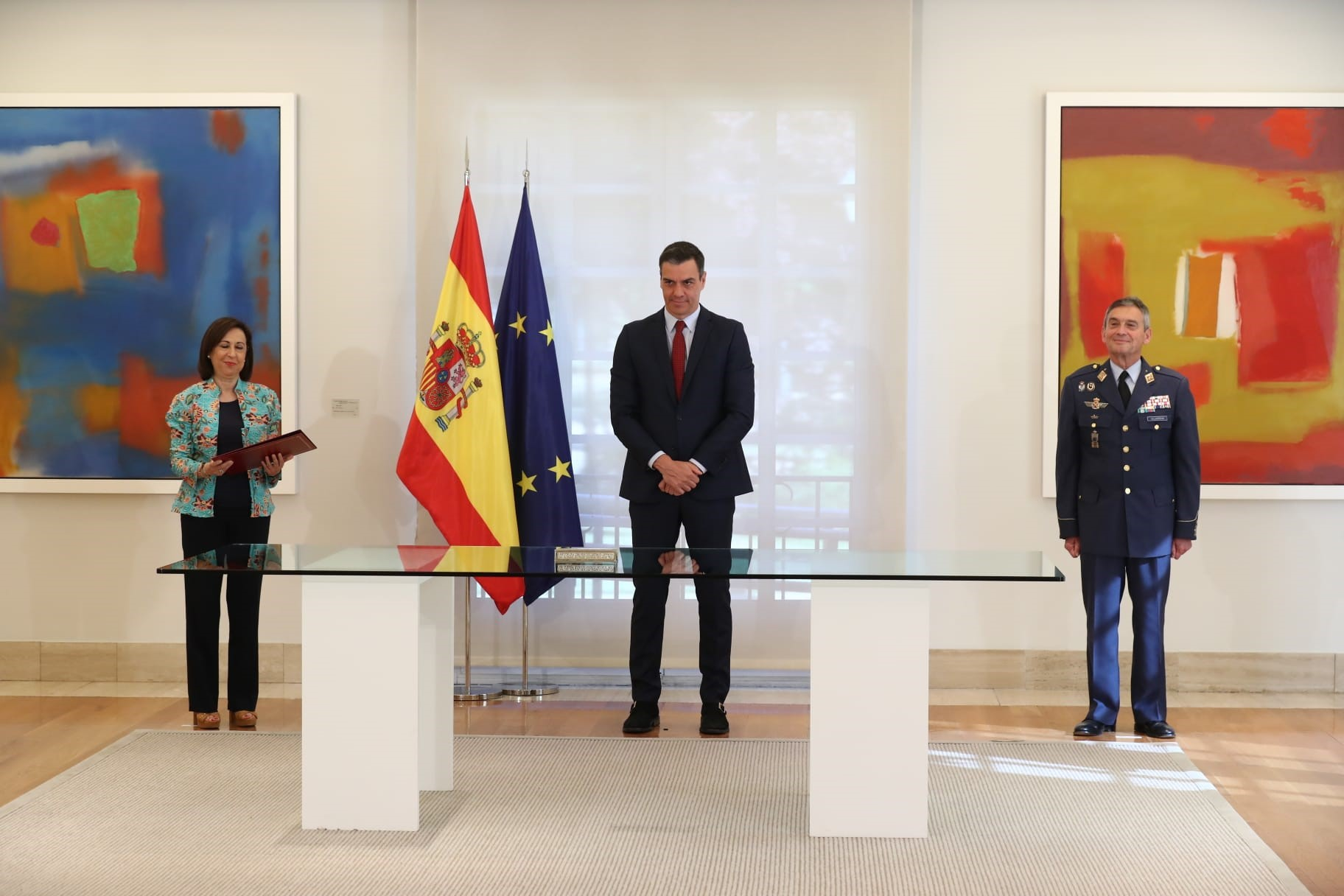 Spain´s Prime Minister signs the National Defence Directive