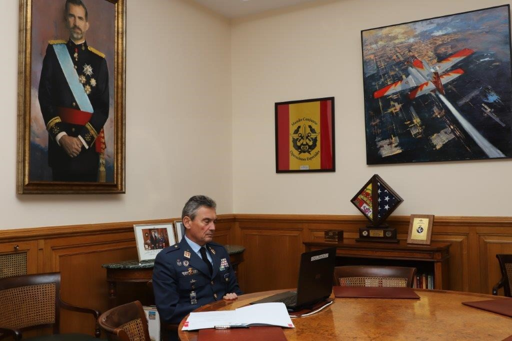 THE CHIEF OF DEFENCE ATTENDS REMOTELY THE PLENARY OF THE COUNCIL OF STATE