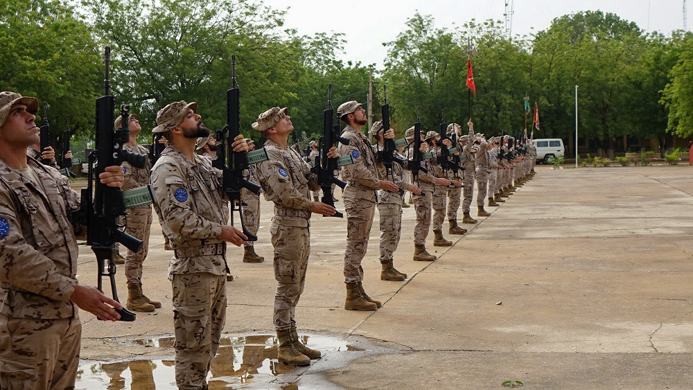 The Spanish Legion sets the backbone of the new contingent in EUTM Mali