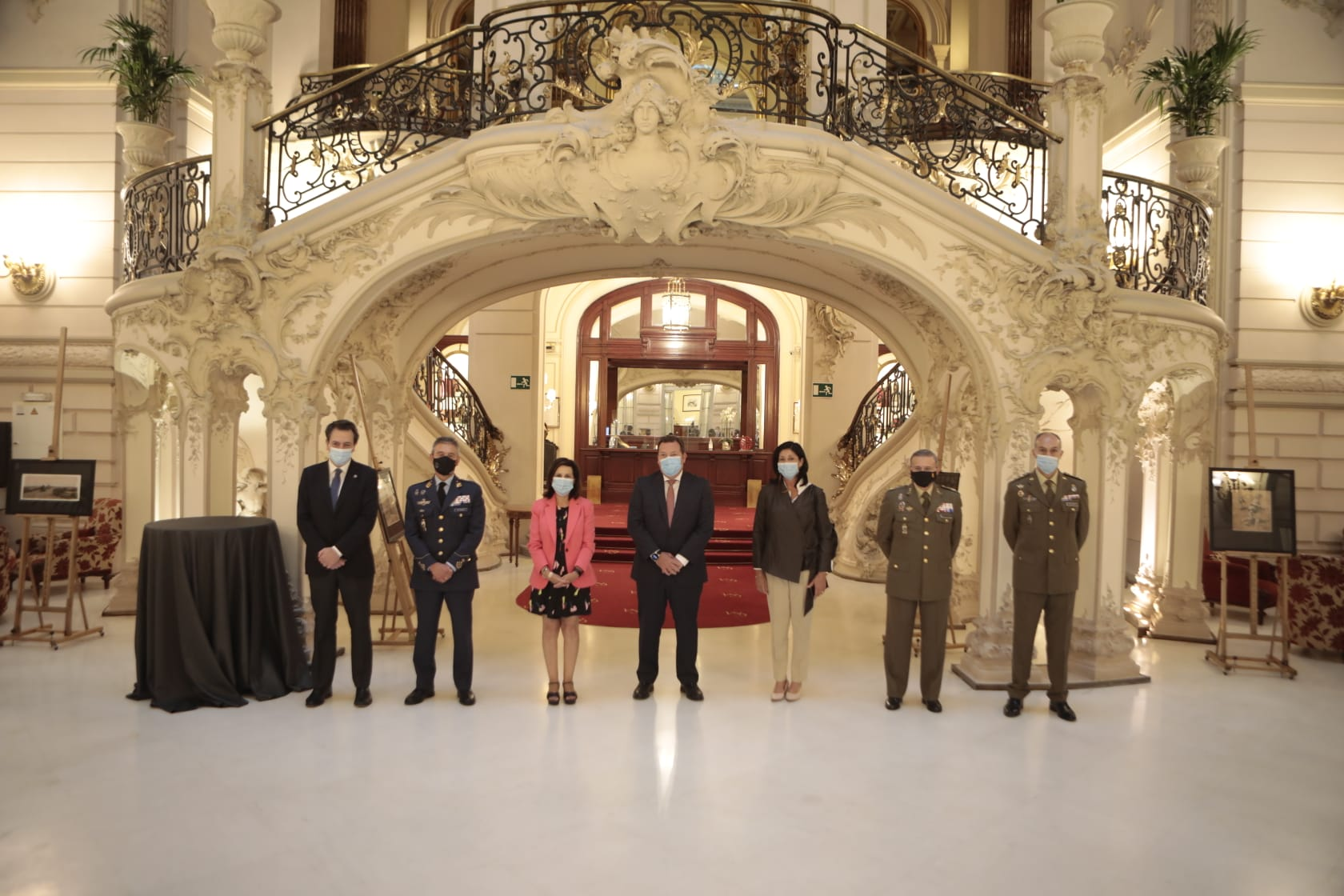 The MoD at the Casino de Madrid