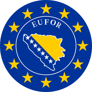 Mission EU EUFOR ALTHEA Bosnia and Herzegovina Emblem