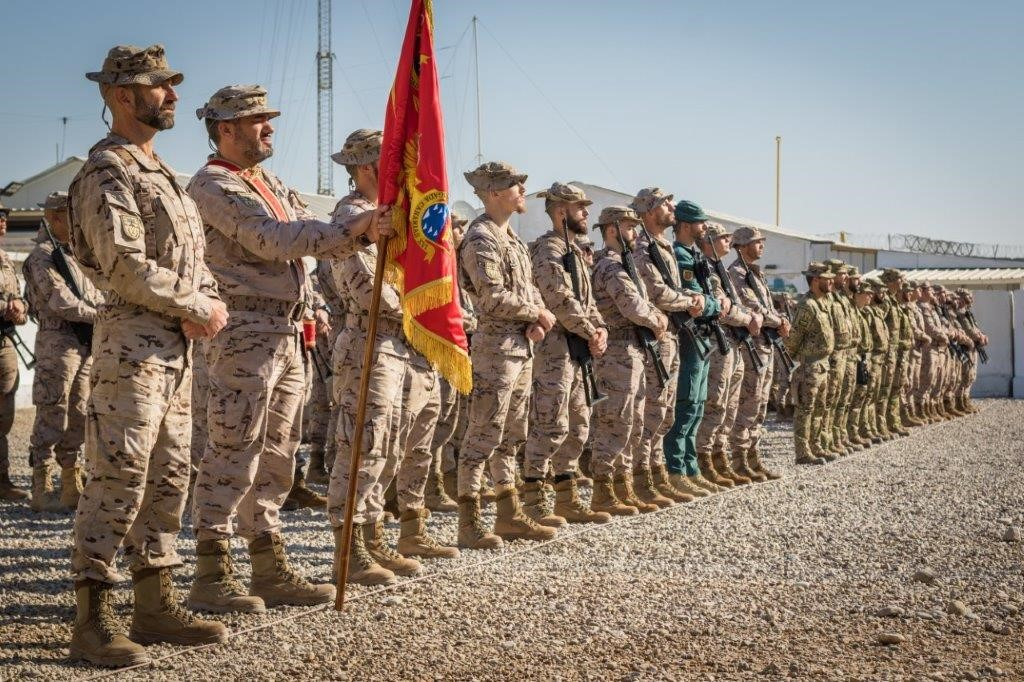 The 11th Spanish Contingent of the Operation Support to Iraq begins its work in the area