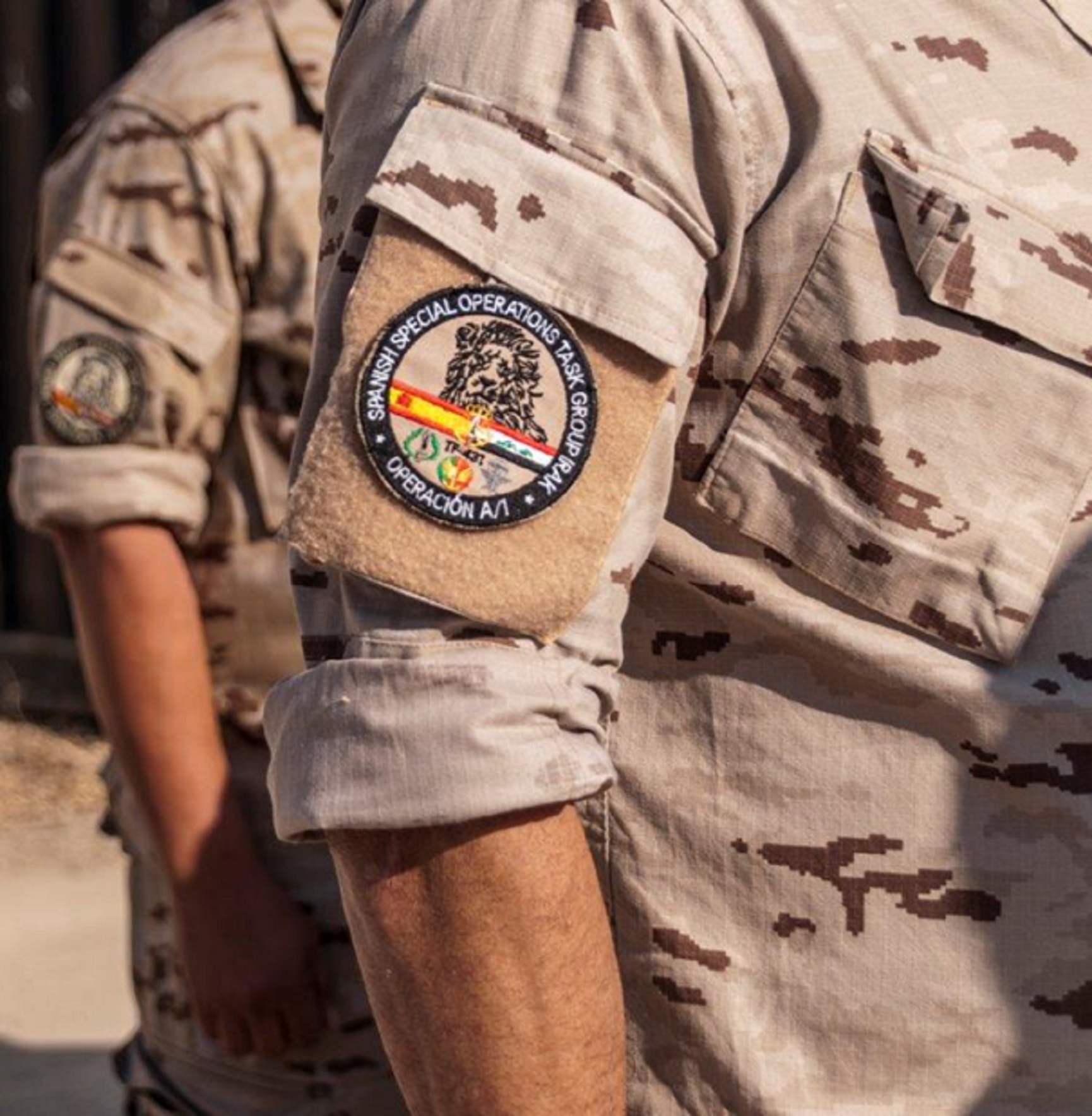 The Spanish Navy leads for the first time the Special Operations in the fight against DAESH in Iraq