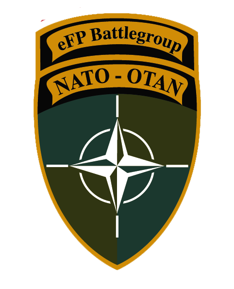 Mission eFP Latvia Emblem