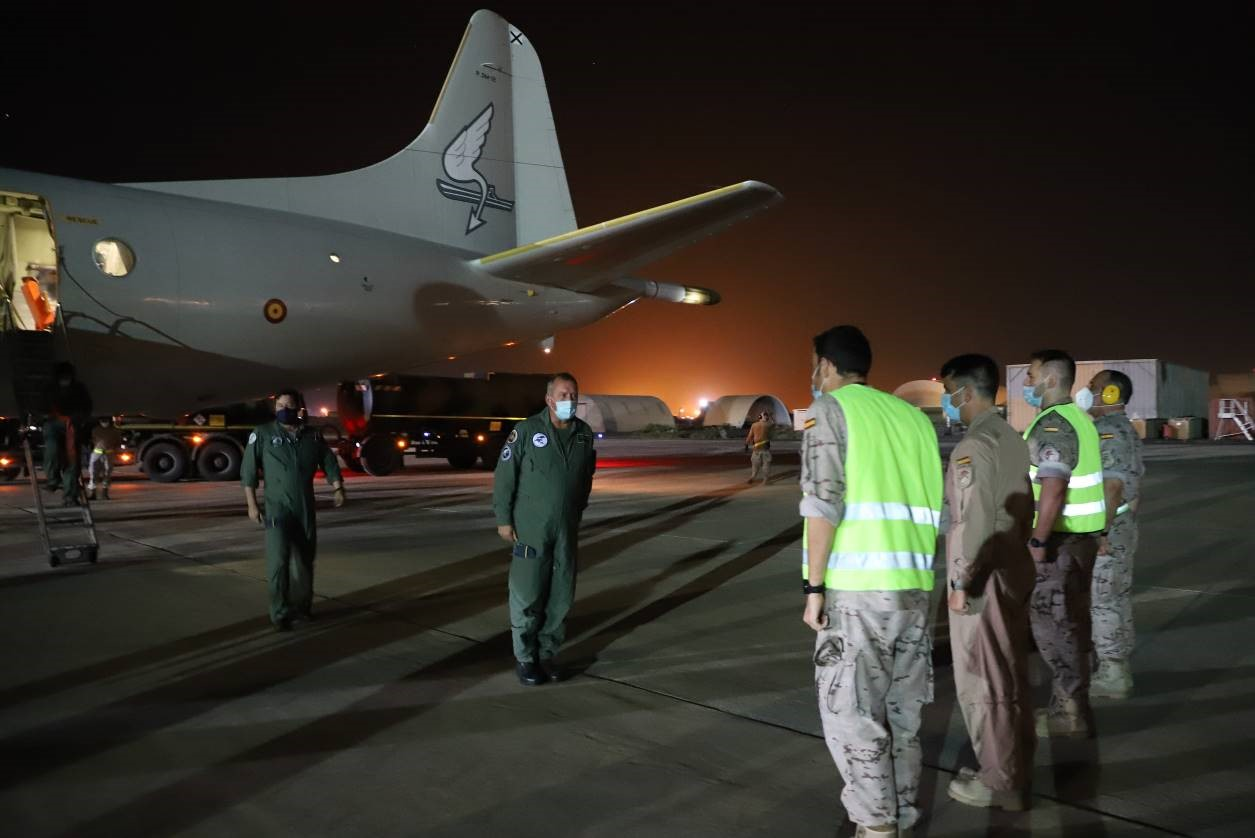 11th wing Commander arriving to Djibouti