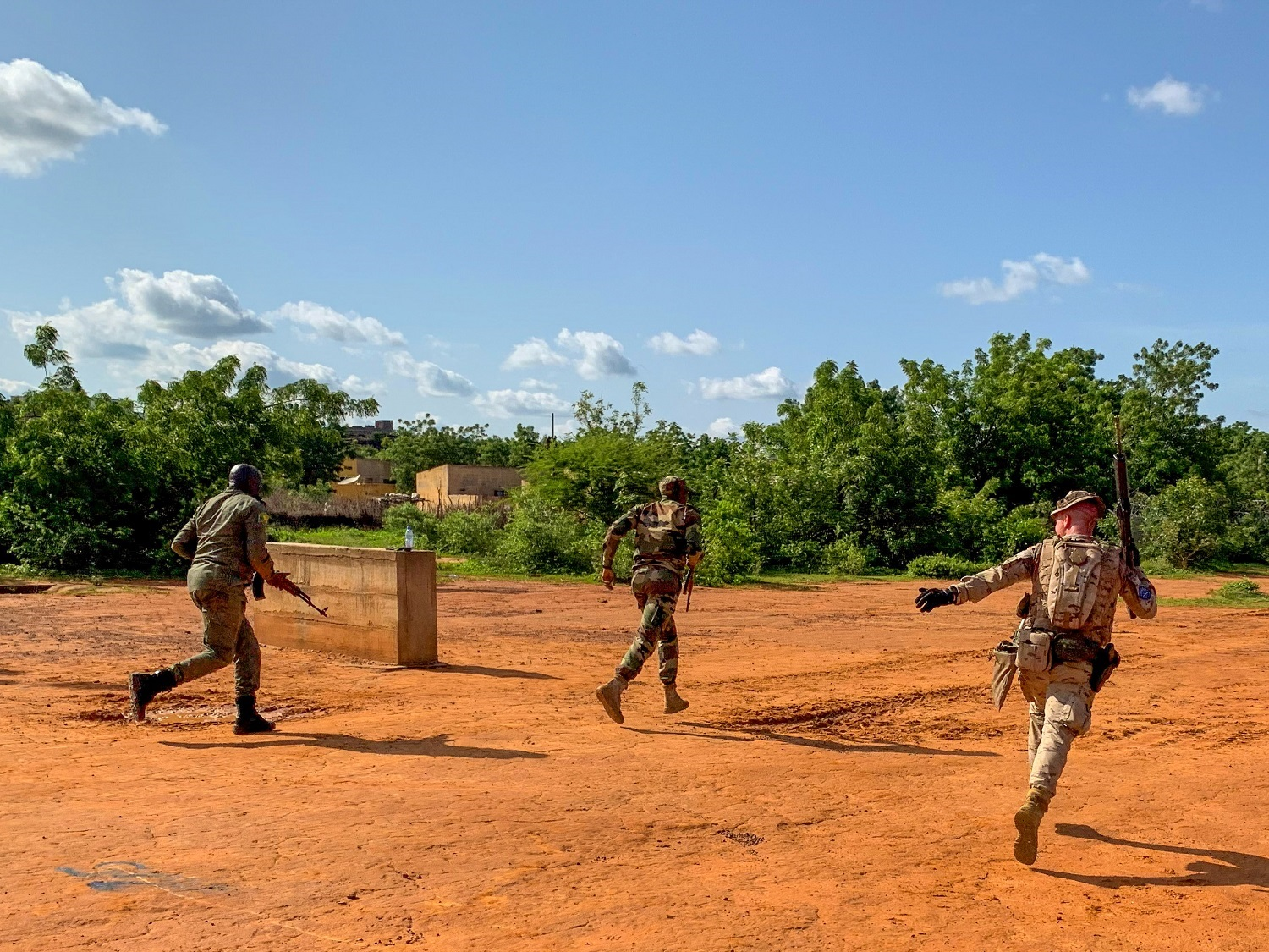 The Spanish contingent within EUTM Mali keeps training the Malian Army