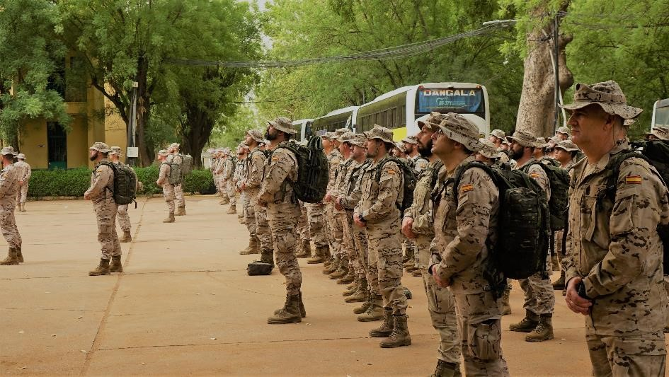 The first rotation of the 16th 'EUTM MALI' contingent arrives to Koulikoro