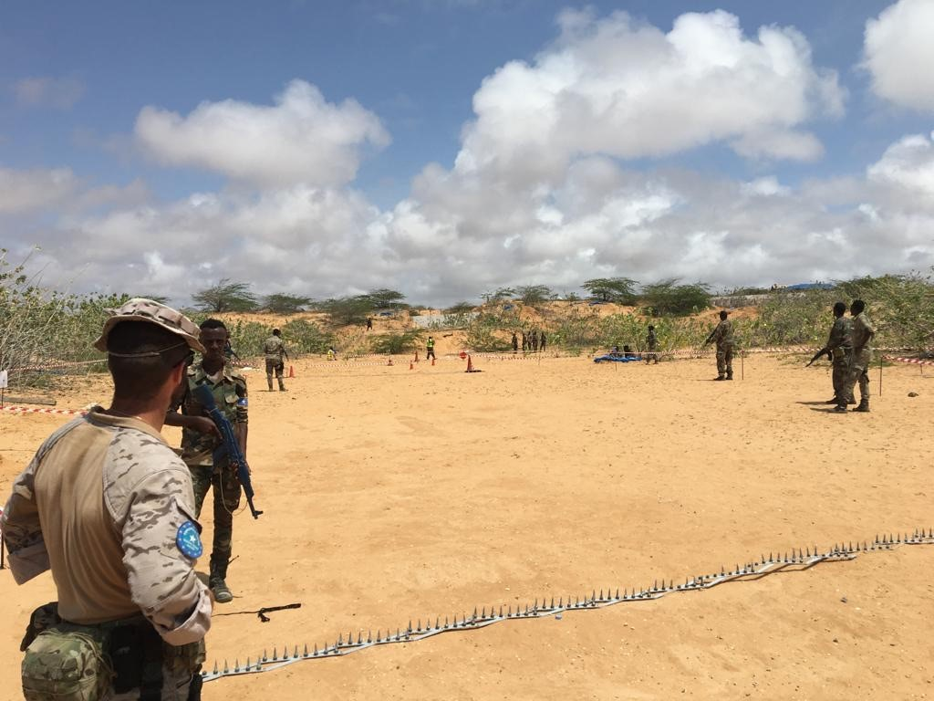 EUTM Somalia concludes training of the 4th Company of the Somali Light Infantry