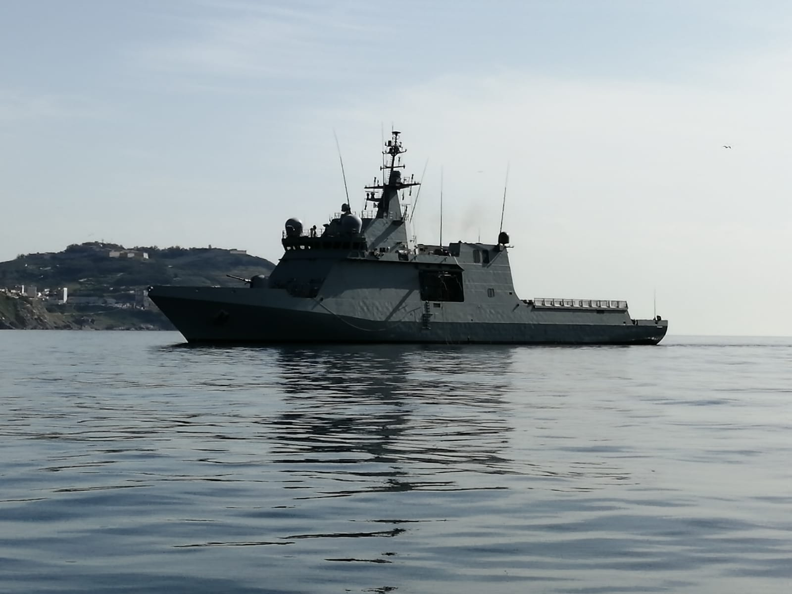 The ship 'Furor' joins the missions of surveillance and maritime security