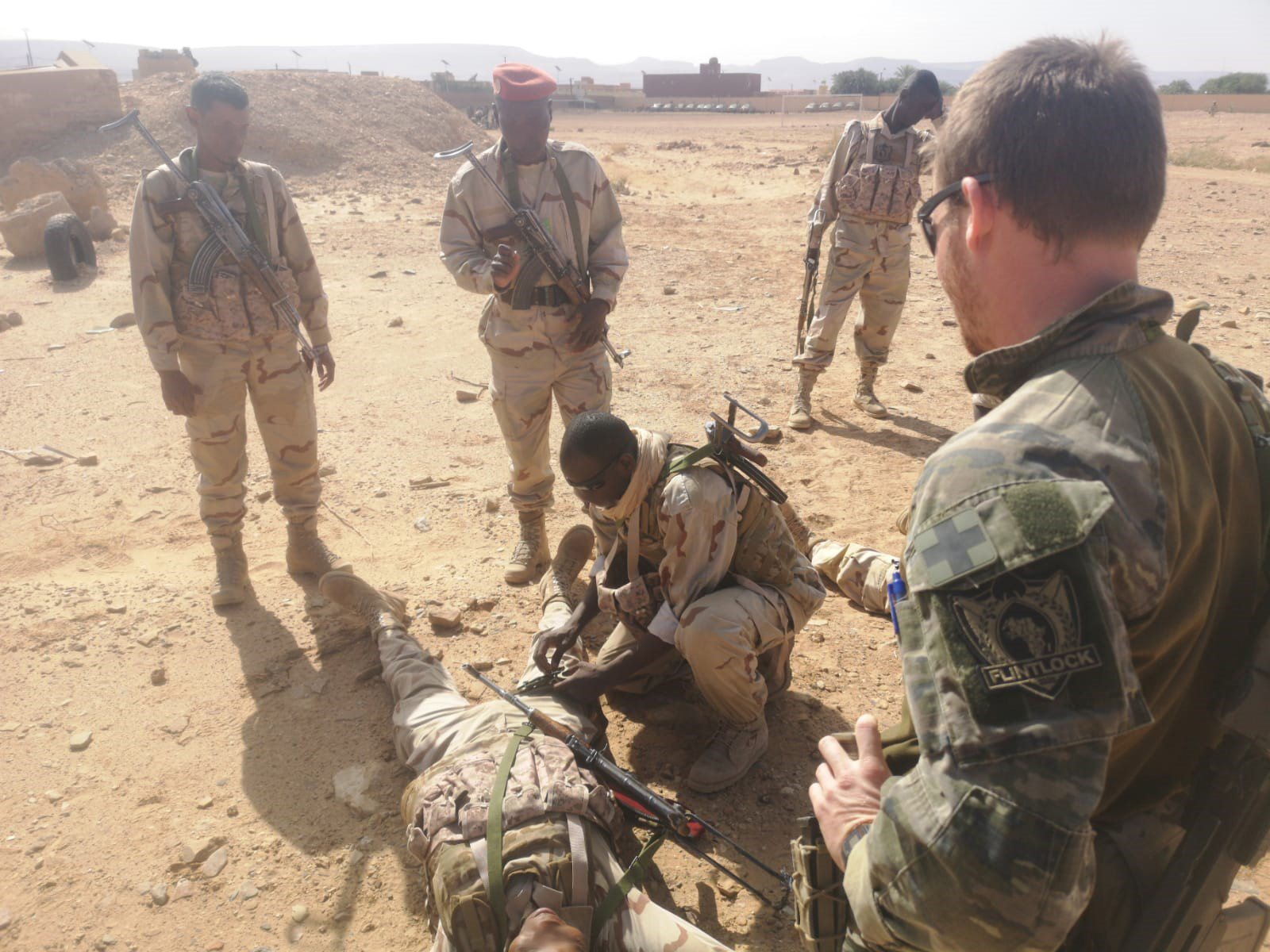 Special Operations Force returns to the desert with exercise Flintlock