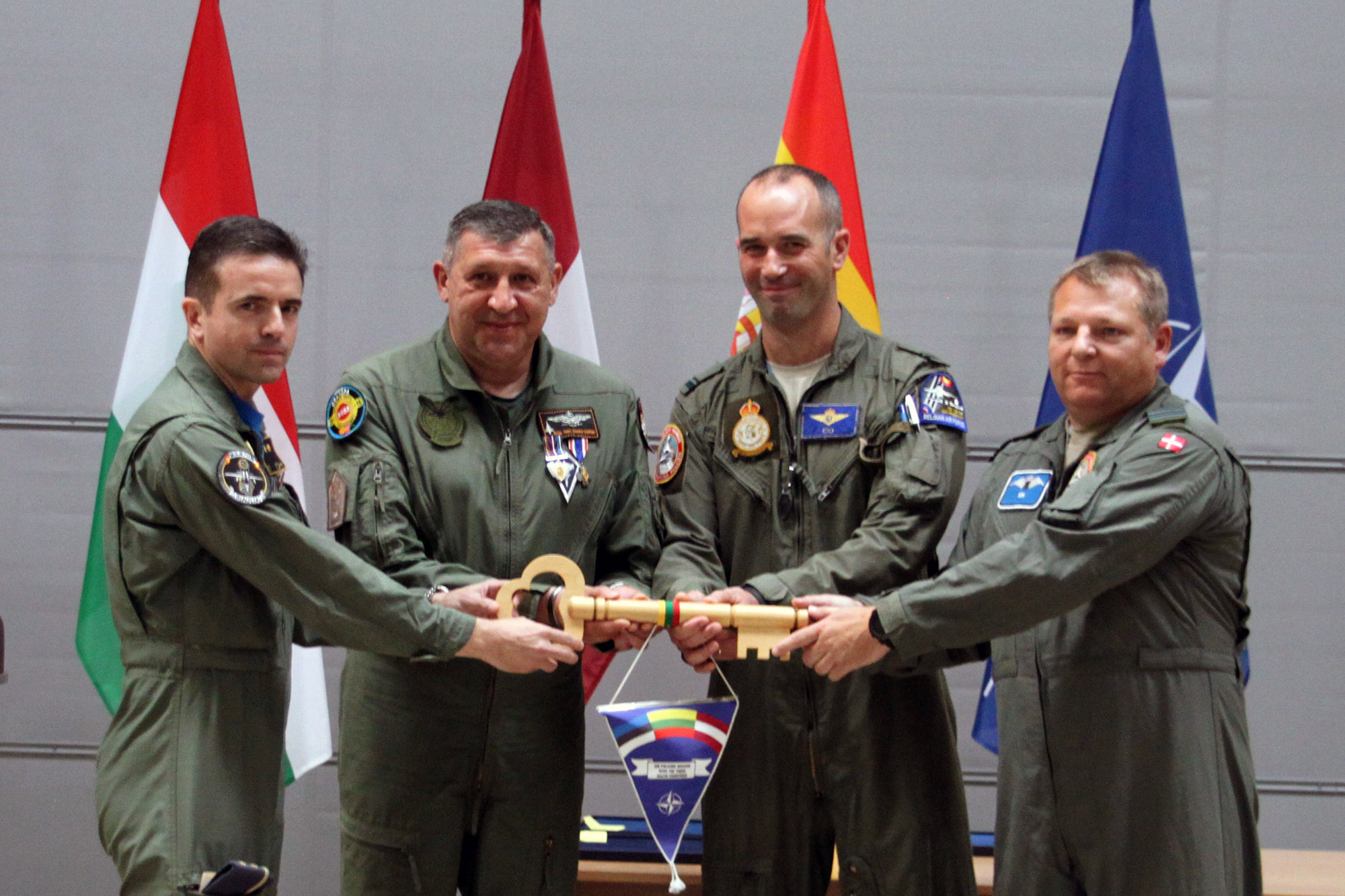 Detachment 'Vilkas 19' finishes its Baltic Air Police Mission