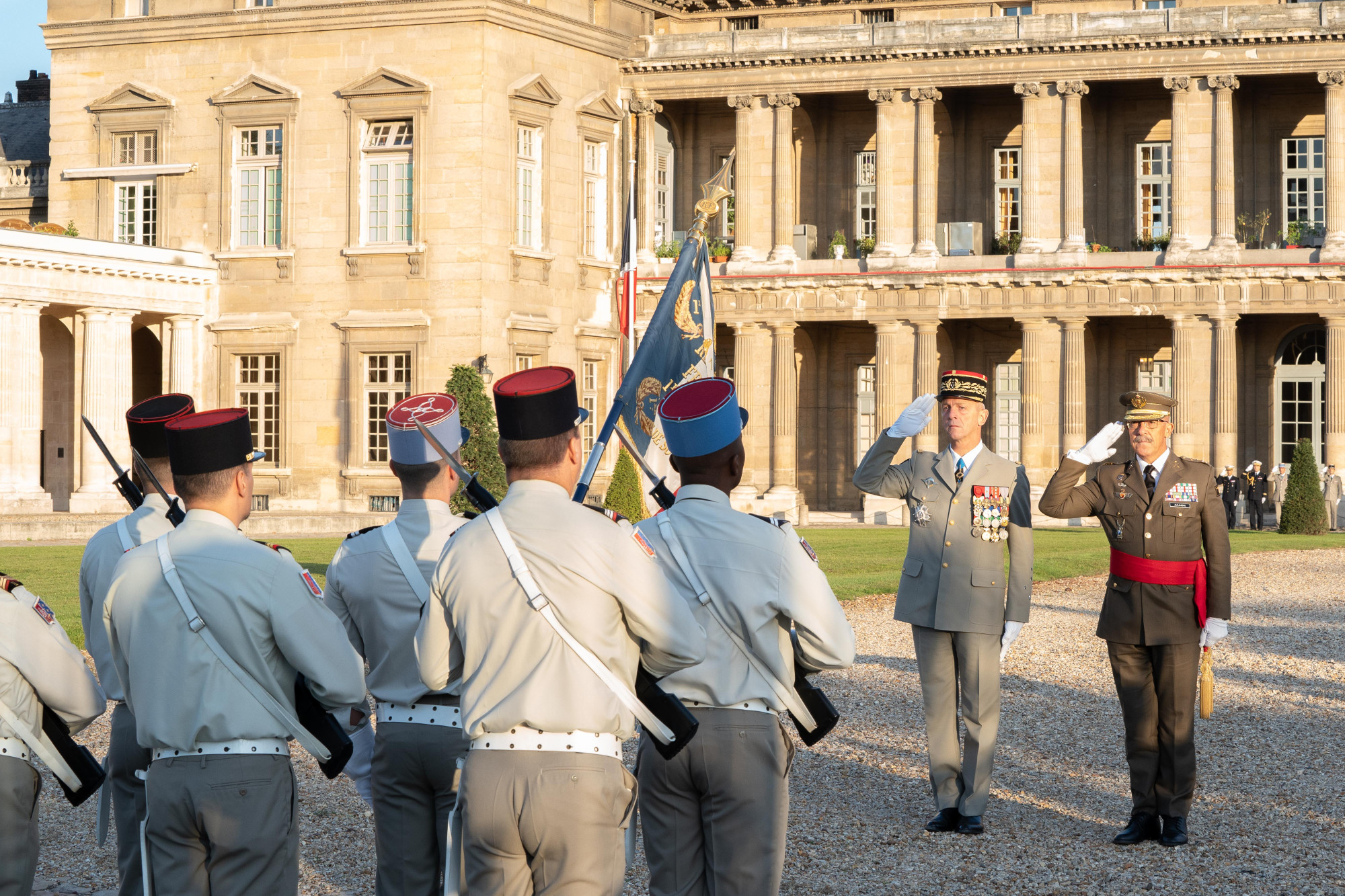 The Spanish Chief of the Defence Staff is awarded with the Legion of Honour of France