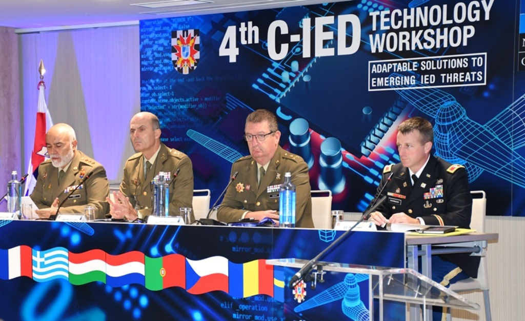 C-IED CoE holds the 4th Technology Workshop on improvised explosive devices
