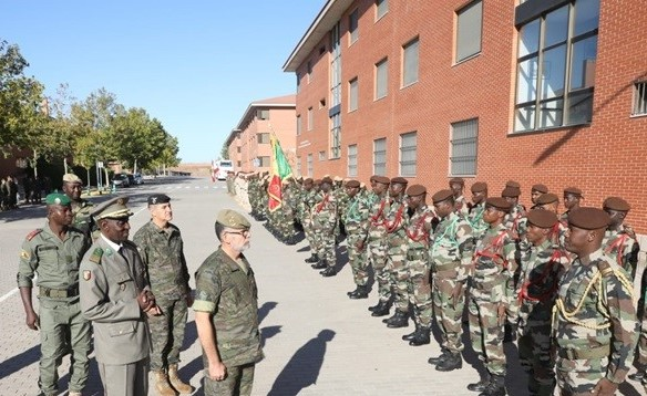 More than 100 soldiers from Lebanon, Senegal, Mali and Mauritania will participate in the Spanish National Day parade