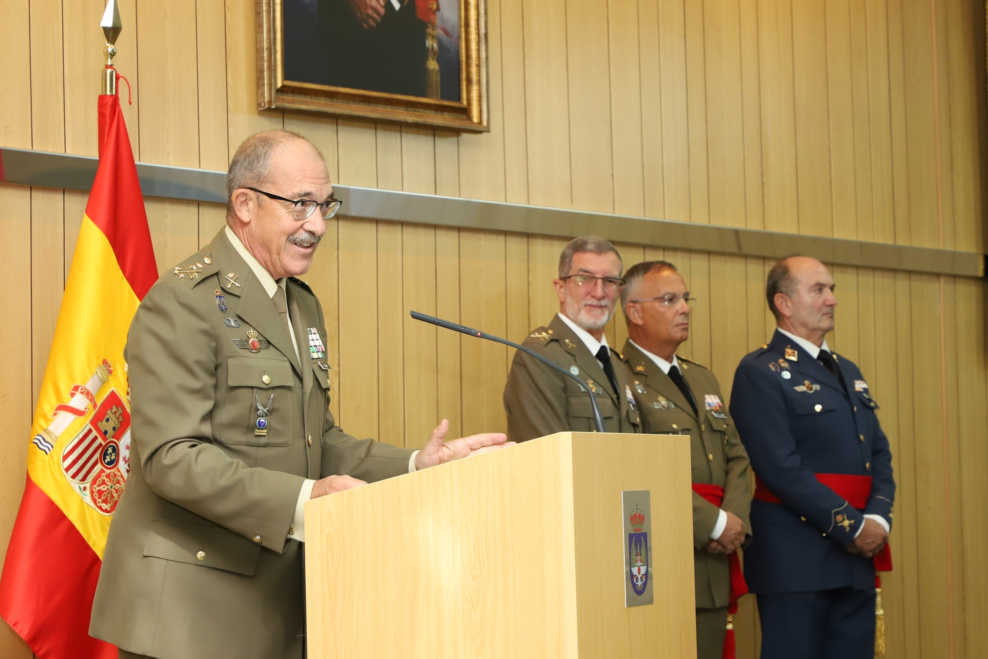 Major General Antonio Romero takes command as Director of the Spanish Armed Forces Intelligence Centre