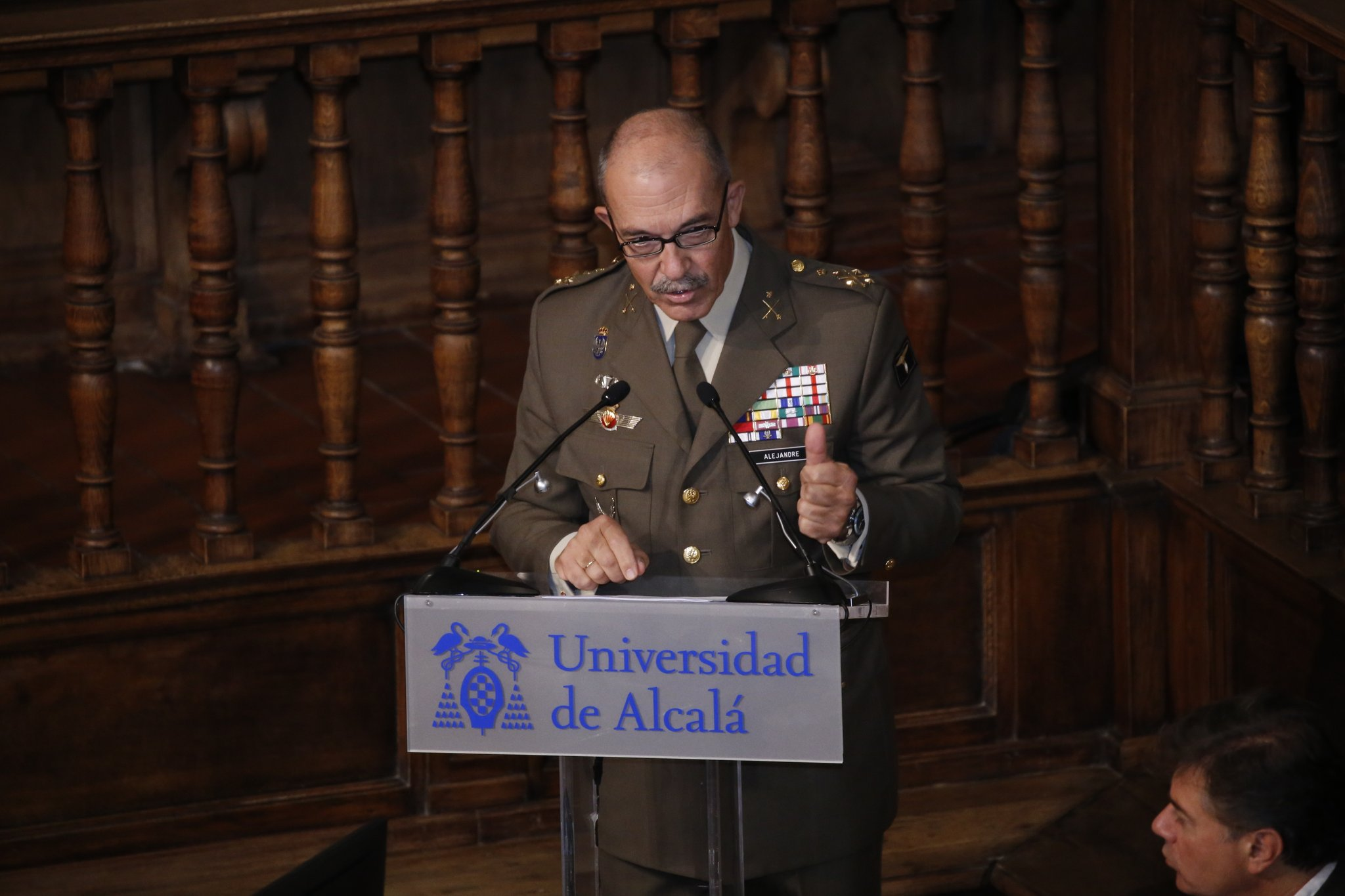 JEMAD gives a conference on overseas missions at the University of Alcalá de Henares