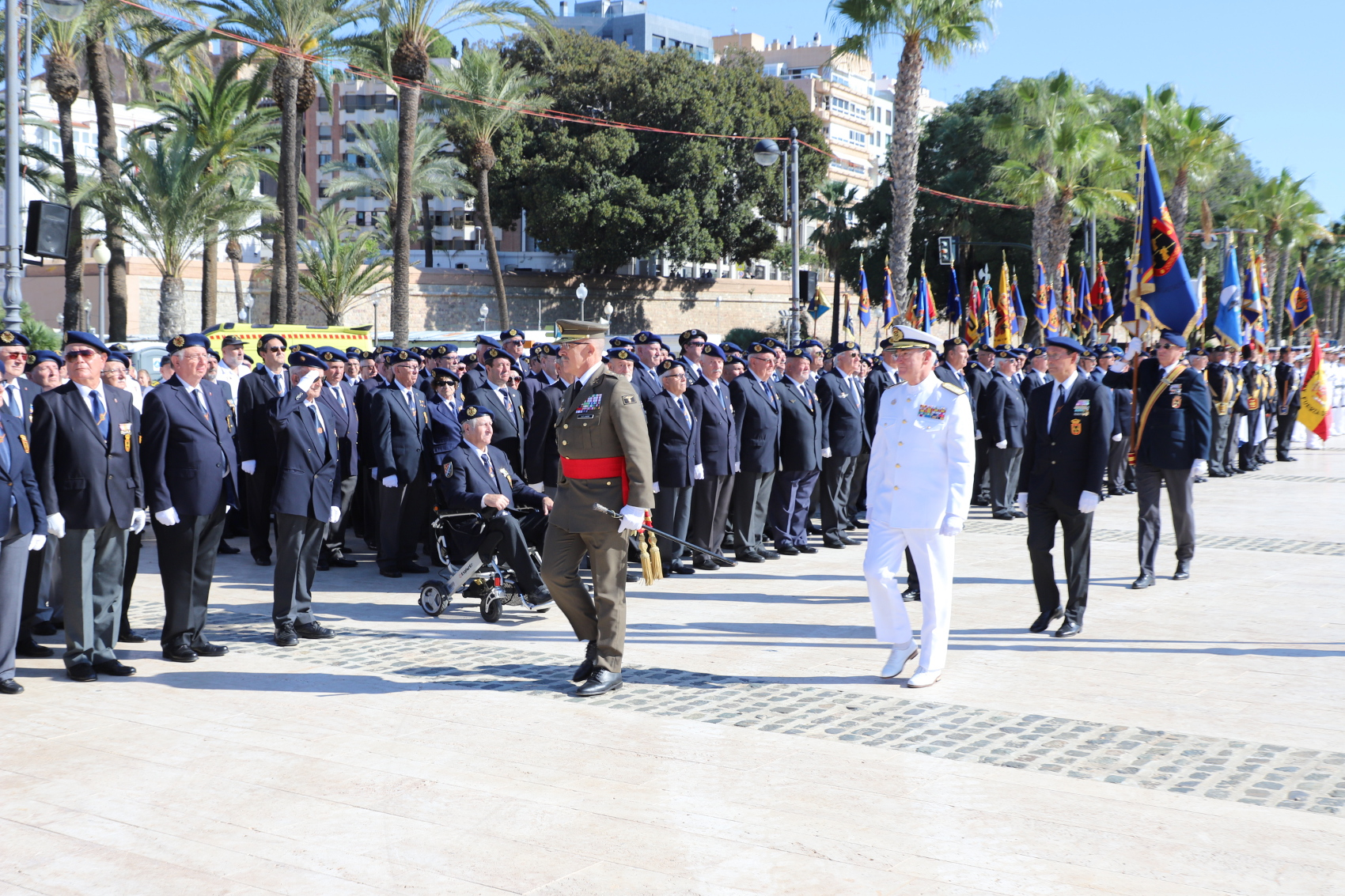 JEMAD presides over the Spanish Armed Forces and Civil Guard Veteran's Day