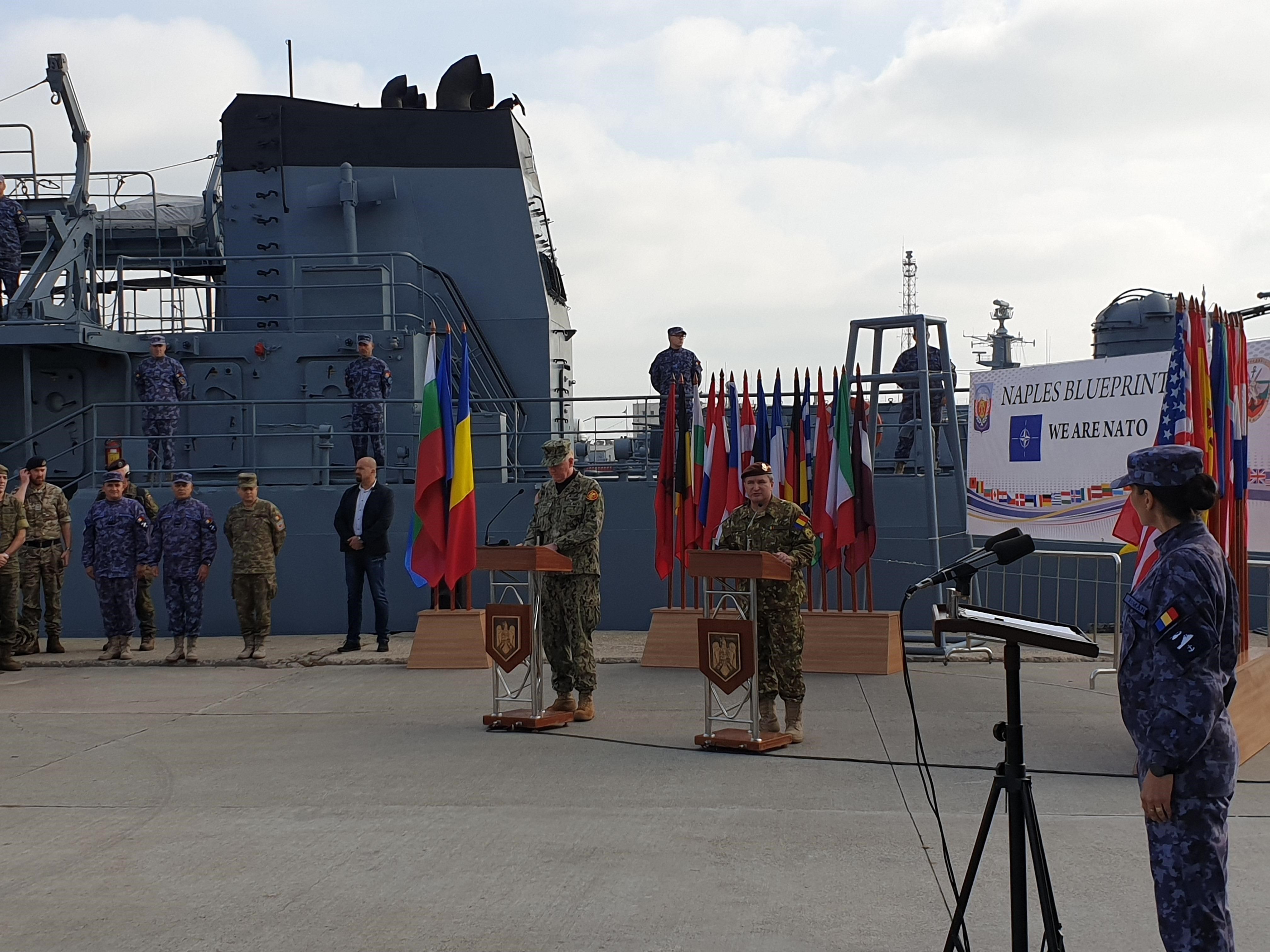 NATO performs 'Naples Blueprint 2019' exercise in Romania and Bulgaria