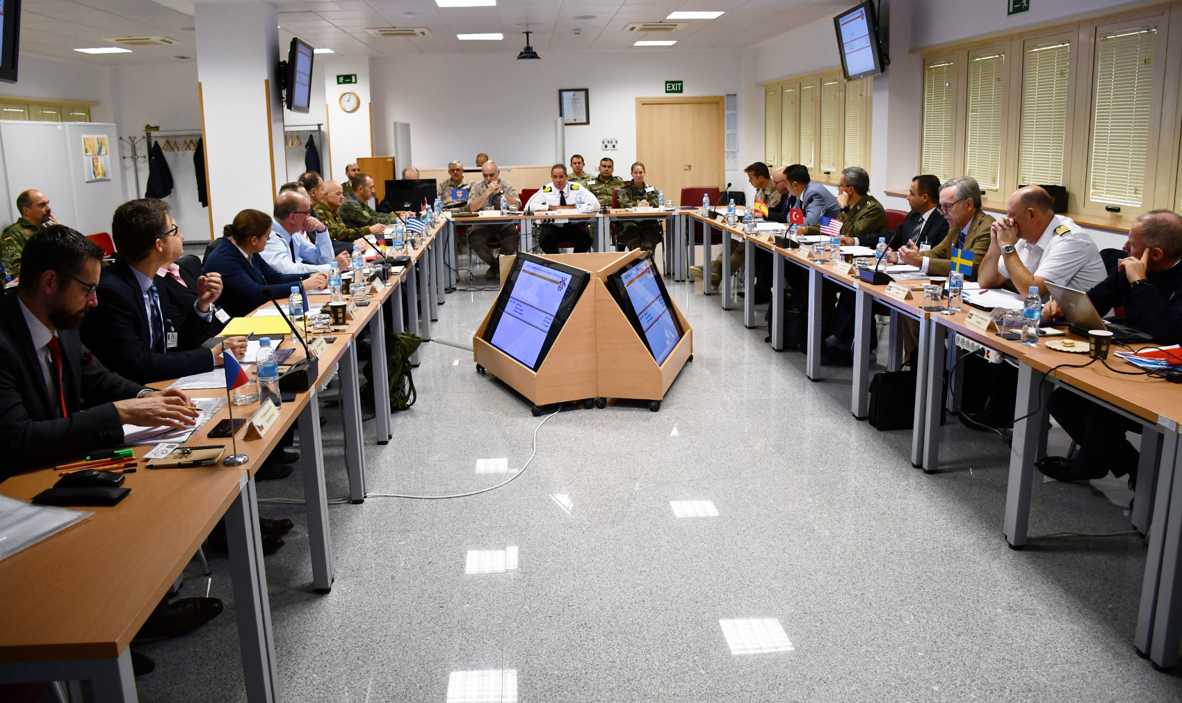 The Management Committee of the Counter Improvised Explosive Devices Centre of Excellence holds its annual meeting