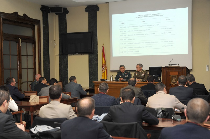 IEEE collaborates with the 1st Official Master´s Degree in International Security Senior Management