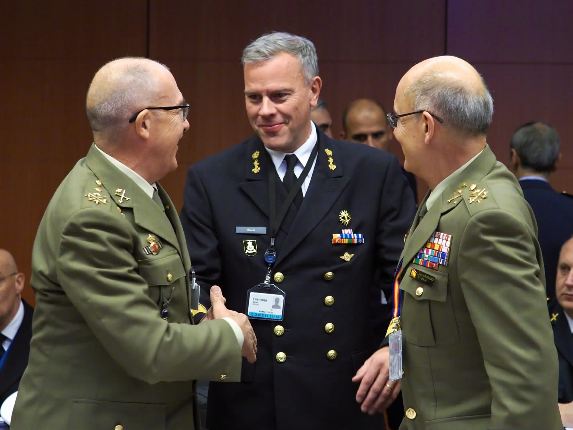 JEMAD takes part in the meeting of the European Union Military Committee