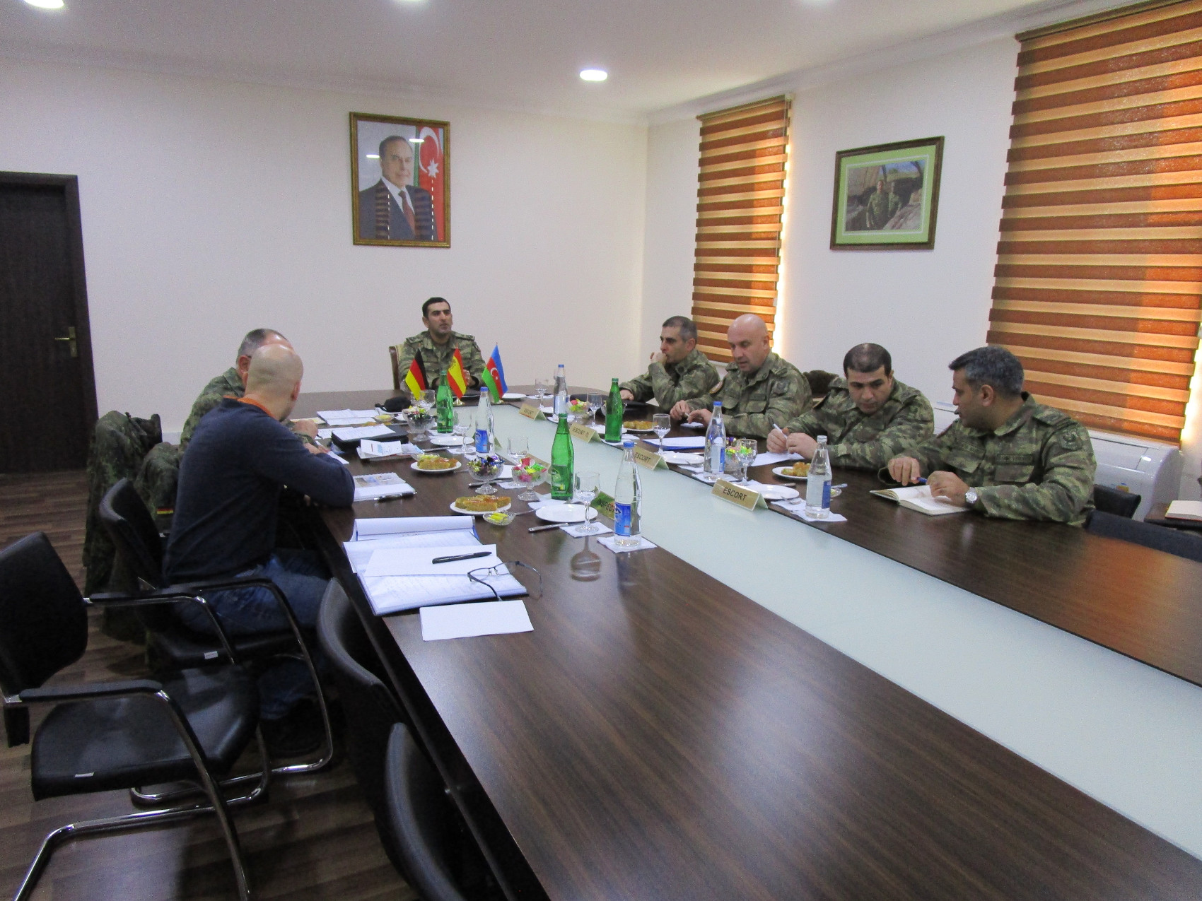 The Spanish Verification Unit participates in an evaluation of Germany's Vienna Document in Azerbaijan