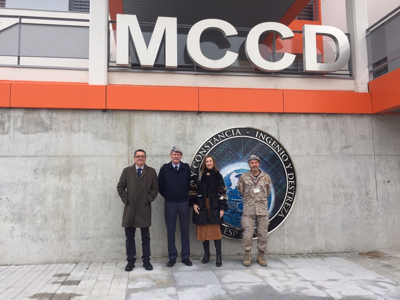 INCIBE Managing Director visits the Joint Cyber Defense Command