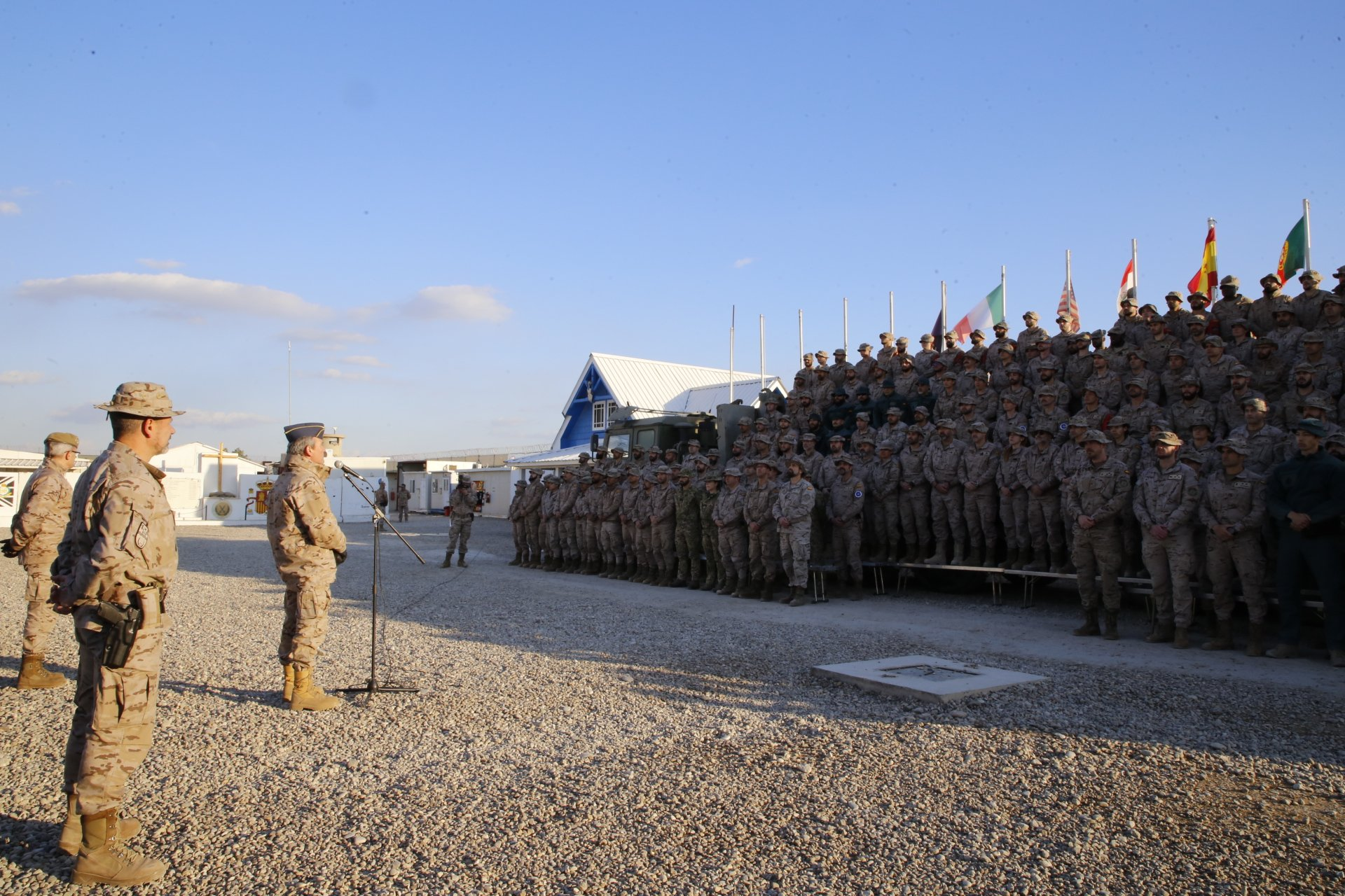 CHOD travels to Iraq to show Spain's commitment to the mission
