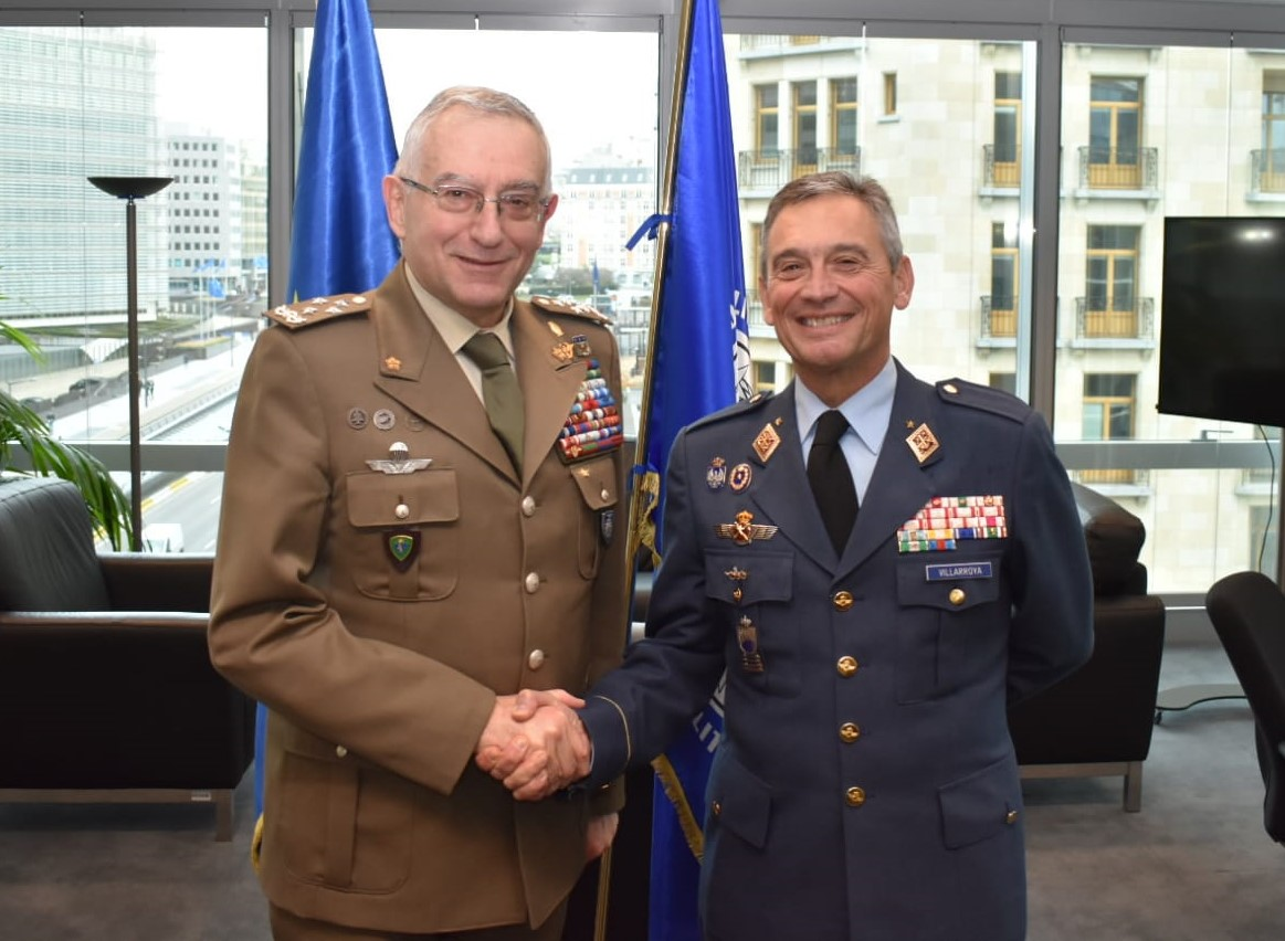 The Chief of The Defence Staff meets both the Chairman of the NATO Military Committee and the Chairman of EU Military Committee