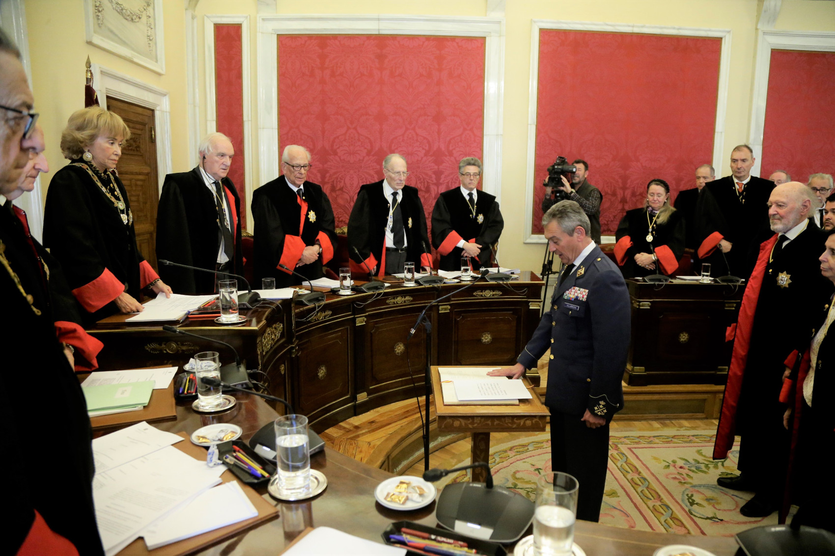 The Chief of The Defence Staff took office as ex officio Member of the Council of State
