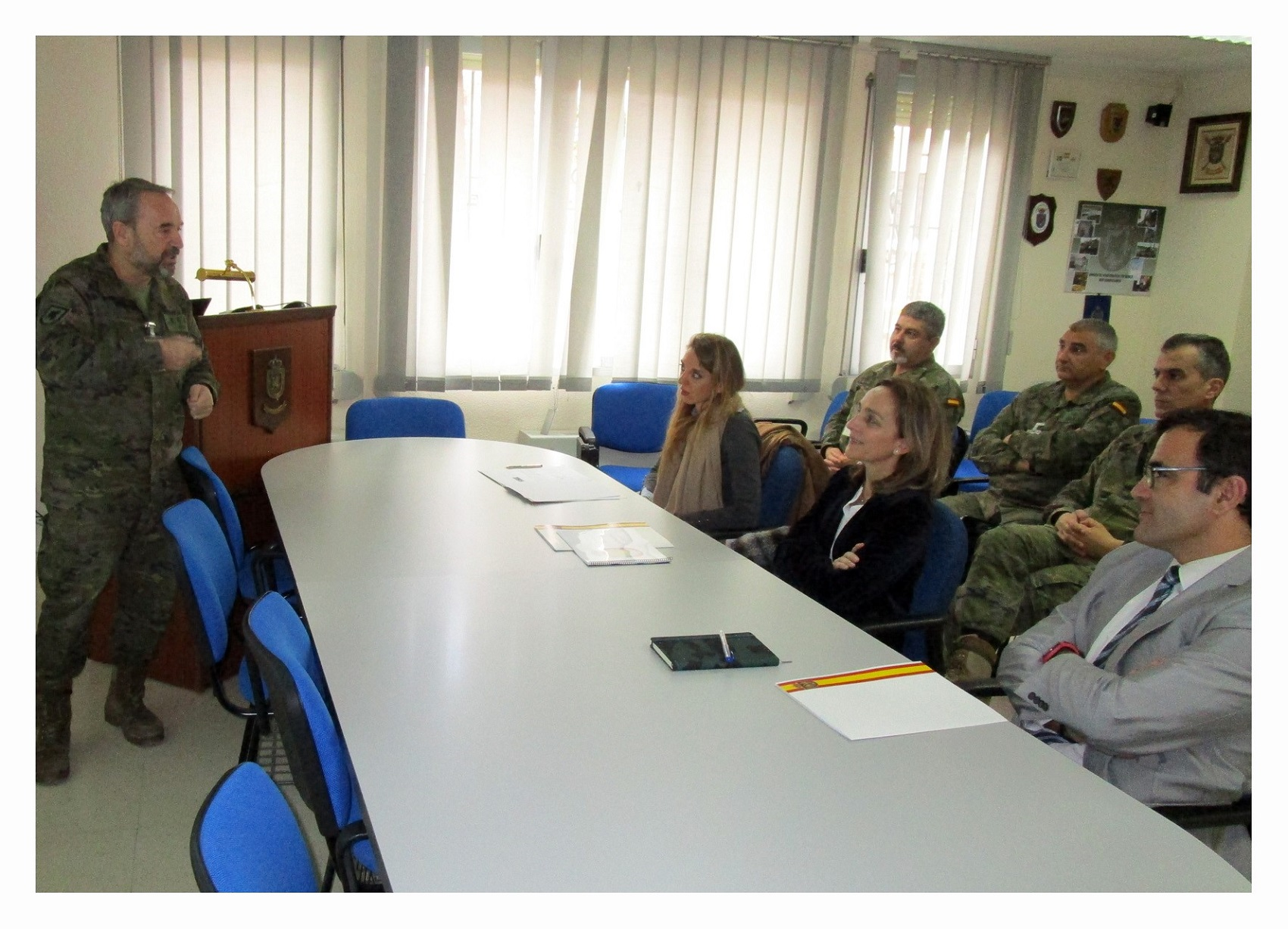 Deputy Director General for Non-Proliferation and Disarment visits Spanish Verification Unit