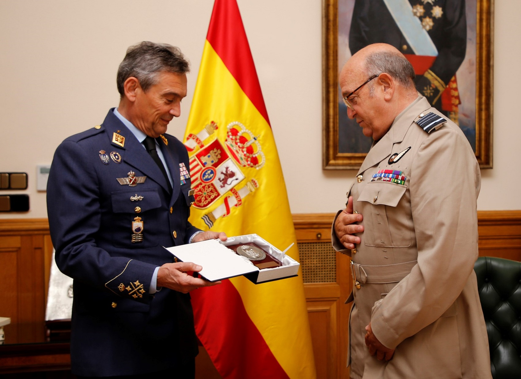Chairman of NATO´s Military Committee has a meeting with Spanish CHOD