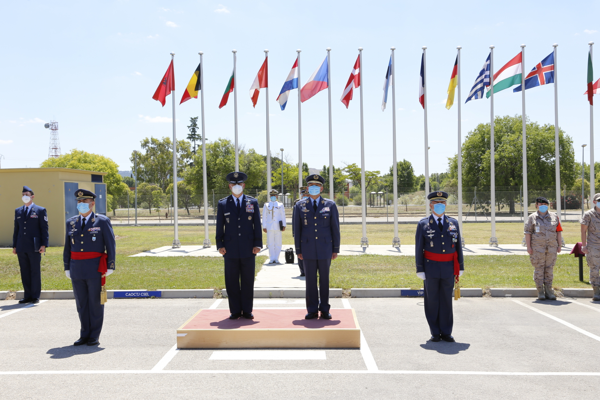 Major General Fernando de la Cruz Caravaca takes command of CAOC TJ